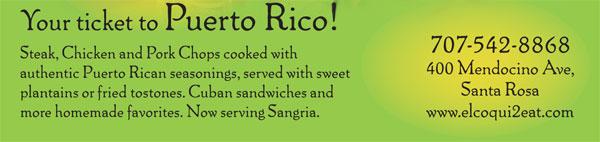 Resturant in Santa Rosa, CA - Puerto Rico