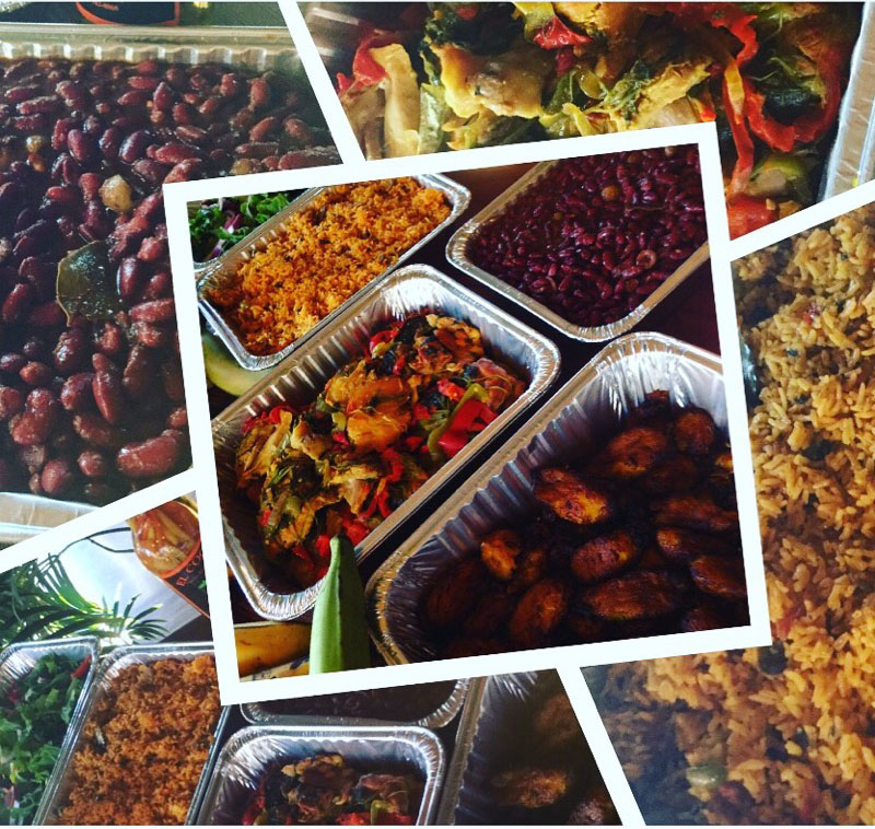 Sonoma County Puerto Rican Catering Platters